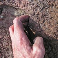 Knoten Handinnenfläche | finger ring 4